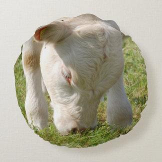 Almofada Redonda Almofada de vacas vitelos de bovinas de Louis
