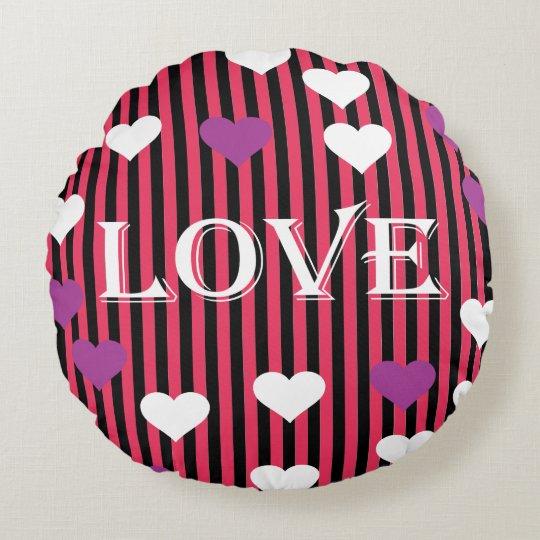 Almofada Redonda Almofada Love Love