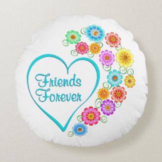 Almofada Redonda Amigos para sempre