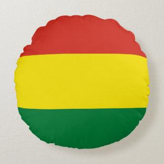 Almofada Redonda Bandeira de Bolívia
