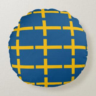 Almofada Redonda Bandeira sueco