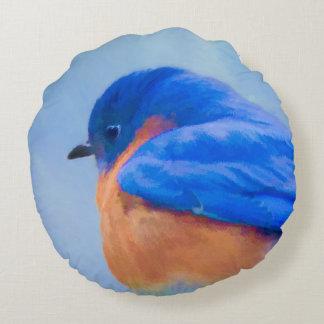 Almofada Redonda Bluebird