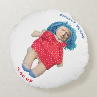 Almofada Redonda Boneca de Chucky Donald Trump