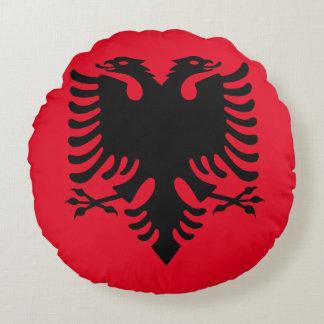 Almofada Redonda Brasão albanesa