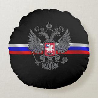 Almofada Redonda Brasão do russo