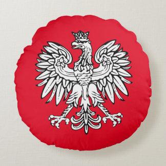 Almofada Redonda Brasão polonesa