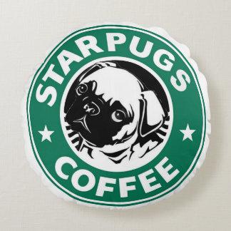 Almofada Redonda Café de Starpugs