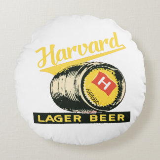 Almofada Redonda Cerveja de cerveja pilsen de Harvard