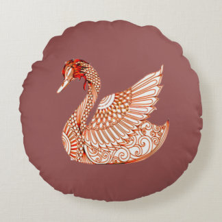 Almofada Redonda Cisne 3