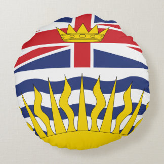 Almofada Redonda Columbia Britânica