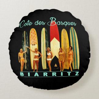 Almofada Redonda Costa dos Basco Biarritz