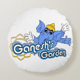 "Almofada Redonda de ""travesseiro redondo do jardim Ganesh"" dos"