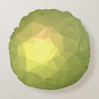 Almofada Redonda Design abstrato & colorido do teste padrão -