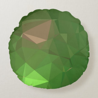Almofada Redonda Design geométrico elegante & limpo - escala do