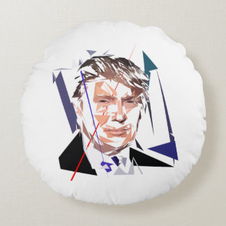 Almofada Redonda Donald Trump