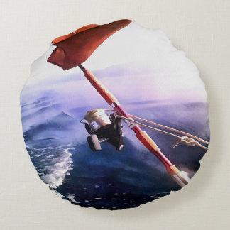 Almofada Redonda É carretel - pesca ida