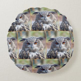 Almofada Redonda Eagle-Coruja euro-asiática, Uhu 02.2.o