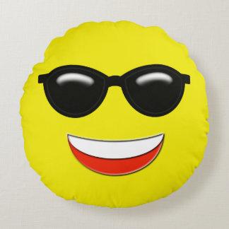Almofada Redonda Emoji frio