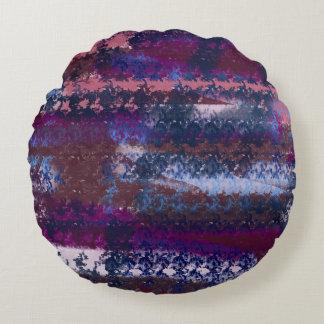 Almofada Redonda espaço abstrato