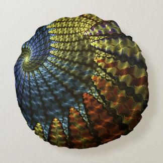 Almofada Redonda Espiral psicadélico