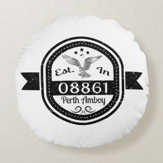 Almofada Redonda Estabelecido em 08861 Perth Amboy