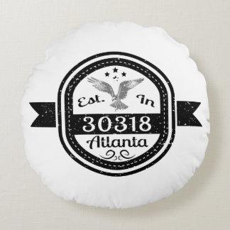 Almofada Redonda Estabelecido em 30318 Atlanta