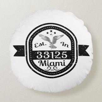 Almofada Redonda Estabelecido em 33125 Miami