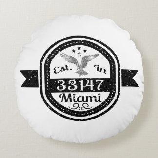 Almofada Redonda Estabelecido em 33147 Miami