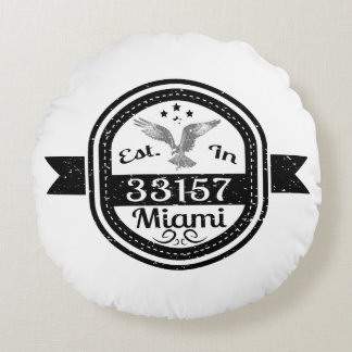 Almofada Redonda Estabelecido em 33157 Miami