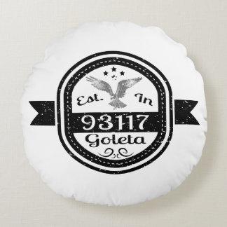 Almofada Redonda Estabelecido em 93117 Goleta