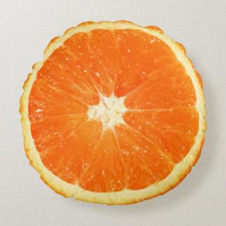 Almofada Redonda Fatia alaranjada suculenta da fruta