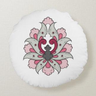Almofada Redonda Flor 02 de Shah Abbasi