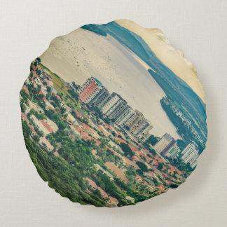Almofada Redonda Ideia aérea do subúrbio de Guayaquil do plano