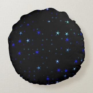 Almofada Redonda Impressionante por todo o lado nas estrelas 02C