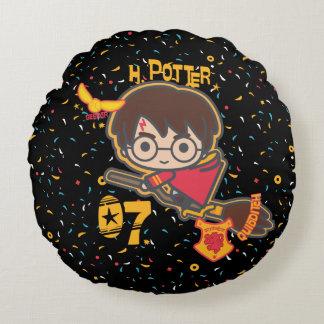 Almofada Redonda Investigador de Harry Potter Quidditch dos