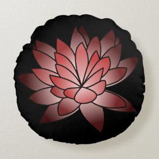 Almofada Redonda Lotus ilustrado rosa
