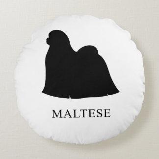 Almofada Redonda Maltês