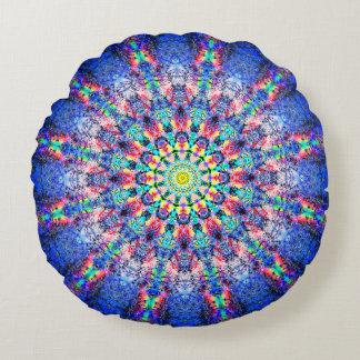 Almofada Redonda Mandala da flor