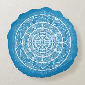 Almofada Redonda Mandala do Bluebird