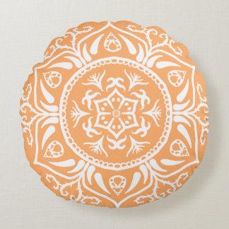 Almofada Redonda Mandala do melão