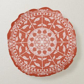 Almofada Redonda Mandala do Terracotta