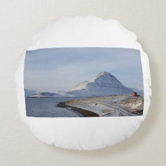 Almofada Redonda Montanha islandêsa
