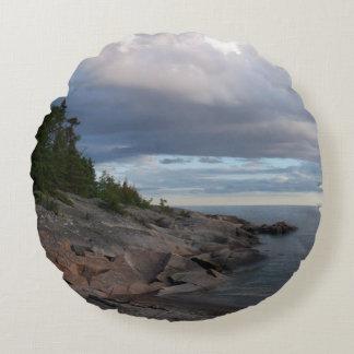 Almofada Redonda O Lago Superior