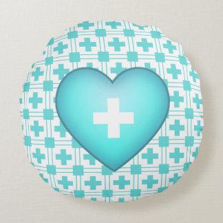 Almofada Redonda Obtenha o melhor travesseiro redondo do coração