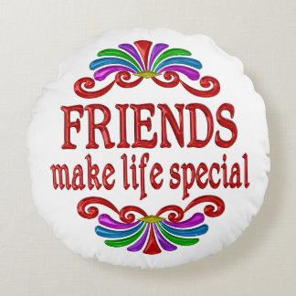 Almofada Redonda Os amigos fazem o Special da vida