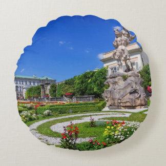 Almofada Redonda Palácio de Mirabell e jardins, Salzburg, Áustria