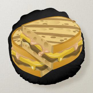 Almofada Redonda Panini óbvio da comida do pulso aleatório