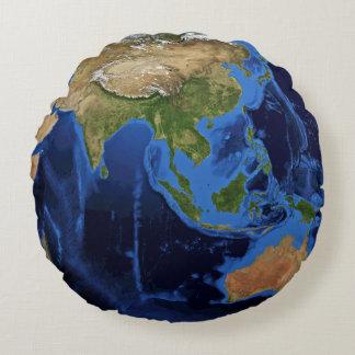 Almofada Redonda Planeta da terra