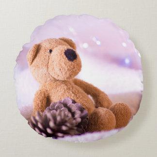 Almofada Redonda Pouco travesseiro doce do urso