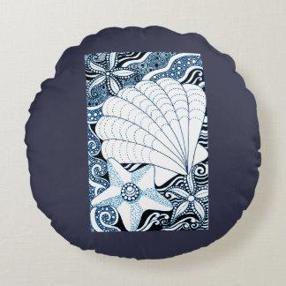 Almofada Redonda Seashells